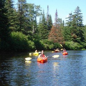 Moose River Kayak Trip
