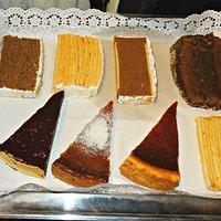 Variedades de Tortas y cheesecake