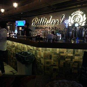 Billidart bar, Causeway Bay Hong Kong