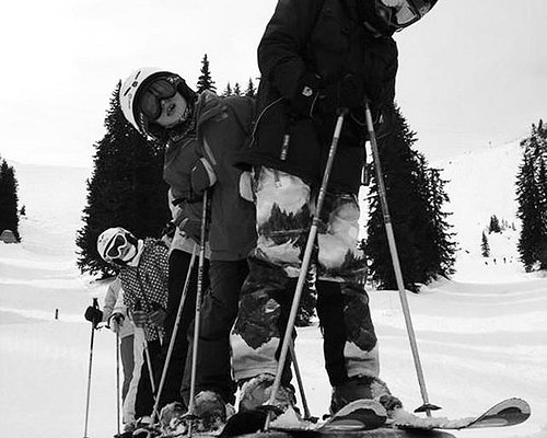 Avoriaz ski freestyle stage ski Evolution 2