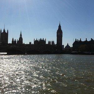 Londra dal Tamigi