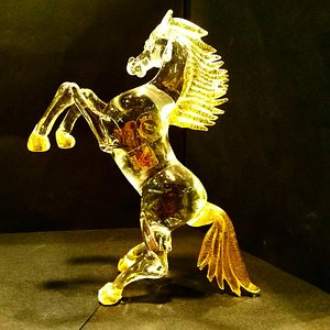 horse in Murano Glass