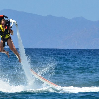 Jetpacking in Papagayo Bay