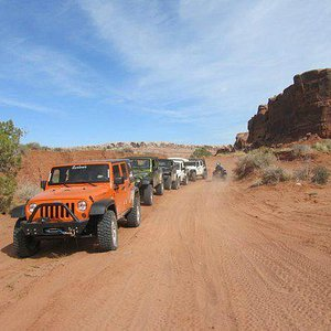 Moab trial ride led by Nena Barlow from Barlow Adventures!  Best Jeeps and fantastic memories!