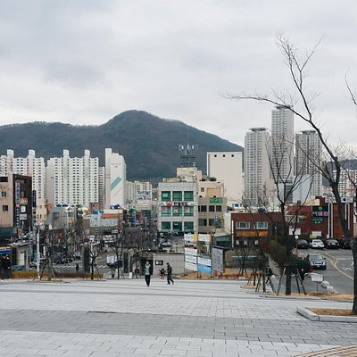 View from Pusan National University