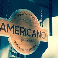 Logo Bar Americano