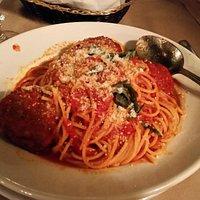 Spaghetti and meatballs - delicious!