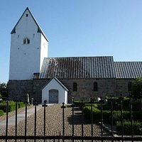 Kirken fra lågen