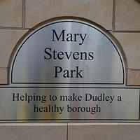 Mary Stevens Park Entrance