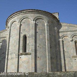Abside della Pieve dei Santi Ippolito e Cassiano a San Casciano a Settimo di Cascina