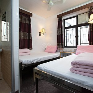 The Twin Room at the Maple Leaf Guest House
