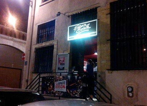 Espace Gerson dans la nuit