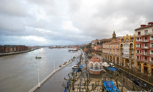 View at the Gran Hotel Puente Colgante