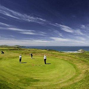 Sun and Sea and Golf