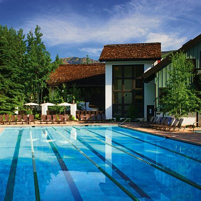 Year round pool at Vail Racquet Club