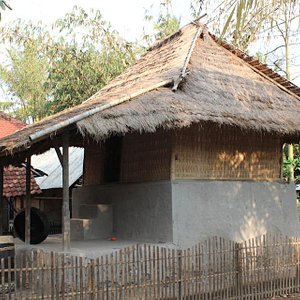 Visit the Bale Tokol house, one of the original models of an indigenous Sasak house.