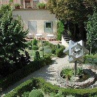 Garden of Palazzo dei Cartelloni (SACI)