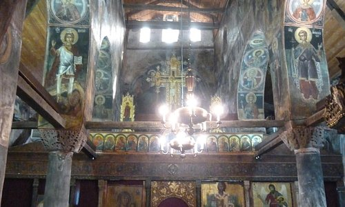 Iconostasis from the 16th C beautifully restored