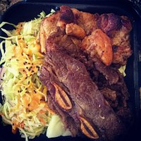 Mixed BBQ Plate