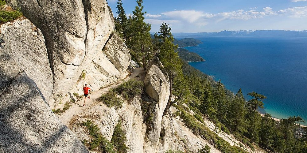 Tahoe Flume Trail, Nevada Credit: Tom Zikas