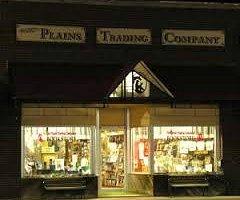 Plains Trading Company at night