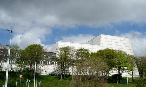 Musikhuset, set fra Østre Havnevej