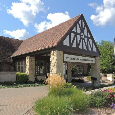 The St Charles History Museum building