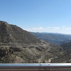 Ruta escénica 150 de Ischigualasto a Jáchal