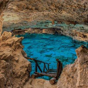 Recorrido subterráneo en Gruta de Kantun Chi