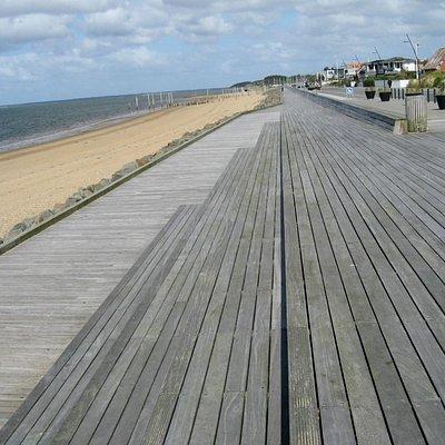 Strandpromenaden, set mod nord
