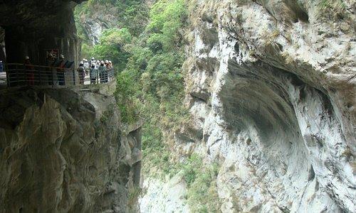 Túnel das Sete Voltas, Parque Nacional Taroko, Taiwan