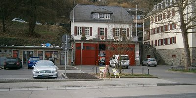 Sonnenberg Fire House in Middle of Town