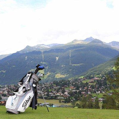 Golf - mit wunderbarem Blick auf Klosters