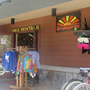 Shoreline of Tahoe Store, South Lake Tahoe, Ca