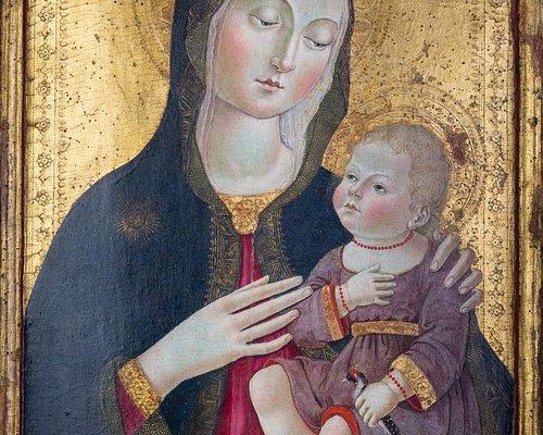 Madonna con Bambino di Benvenuto di Giovanni