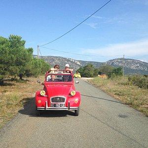 Tour Di Vin sur le terroir de Fitou