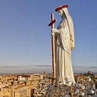 La statua di Santa Rosa attualmente presso il Museo