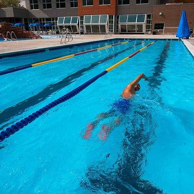 25-Yard Outdoor Lap Pool