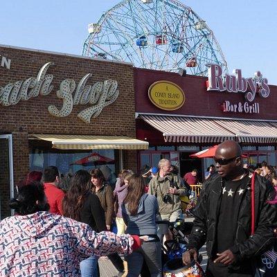 ruby's Bar & Grill on the Coney Island Boardwalk