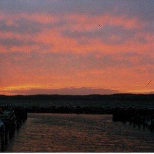 Abendlicher Blick über die Bucht