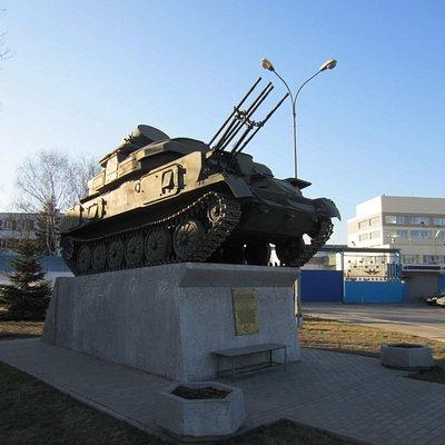 """Самоходная установка ЗУС-23-4 """"Шилка"""""""
