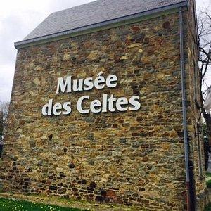 Buitenkant Keltisch Museum