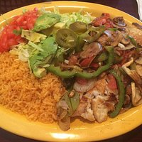 Tilapia Jalisco - Amazing! Delicate fish with grilled vegetables.