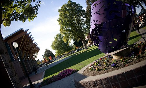 Pioneer Park in downtown Puyallup