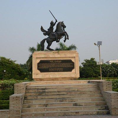 Statue of Maharani Laxmibai