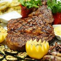 Wagyu  beef ribeye  with bone M5/6 (800gr. Aus)