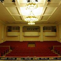 Зрительный зал Камерного зала филармонии