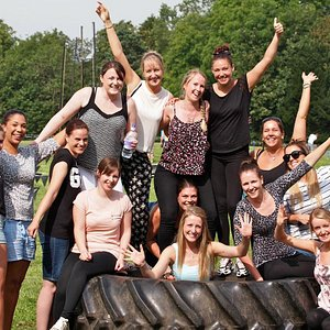 A Hen Do at the end of a great fun Highland Games event