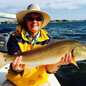 Tampa flats fishing charters redfish