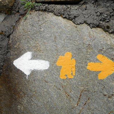 Il simbolo della Via Francigena